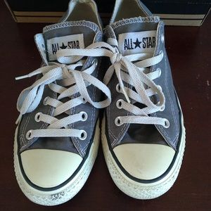 Converse Chuck Taylor All Star Gray Low Sneakers 6